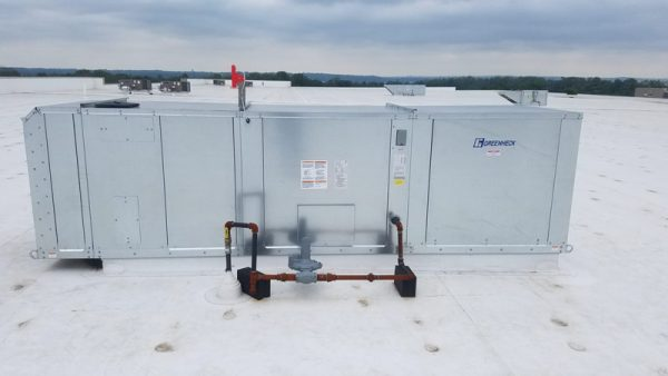 peck hannaford and briggs roof unit